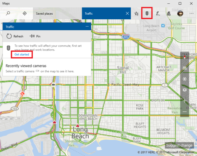 Windows Maps vs. Google Maps: 7 Features Windows Does Better microsoft maps traffic 633x500