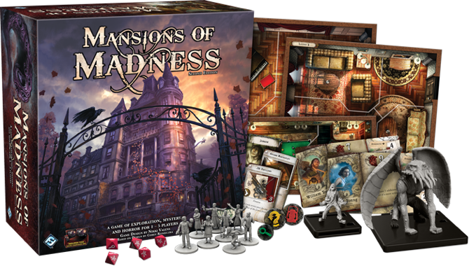 mansions of madness 2e board game