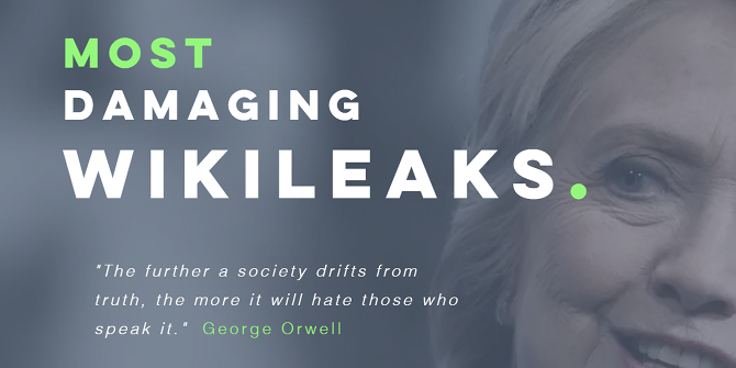 View the Most Damaging WikiLeaks, All on One Tidy Website most damaging wikileaks front page
