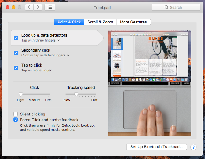 Got a New Mac? Do This First! new mac trackpad