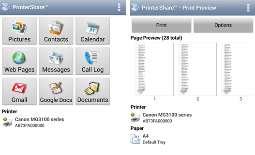 Google Cloud Print and Alternatives for Printing On-the-Go printershare