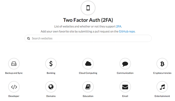 Two Factor Auth Web App
