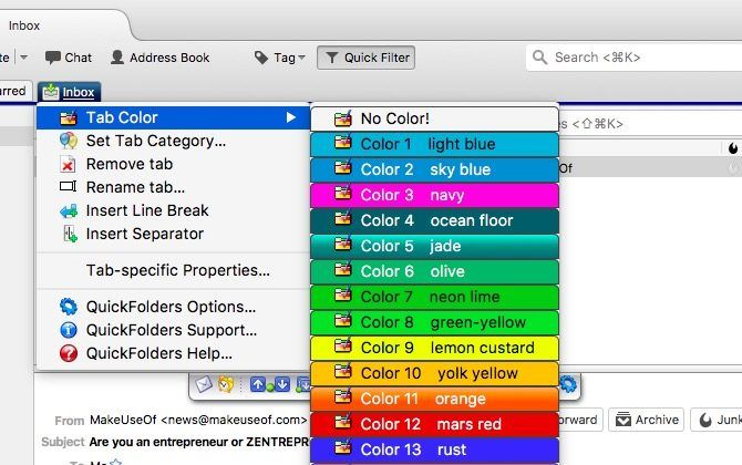 10 Must-Have Thunderbird Addons (+ 25 More)