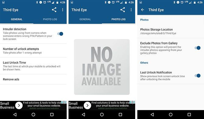 Want to Know Who's Trying to Unlock Your Phone? Catch Them in the Act third eye 670x390