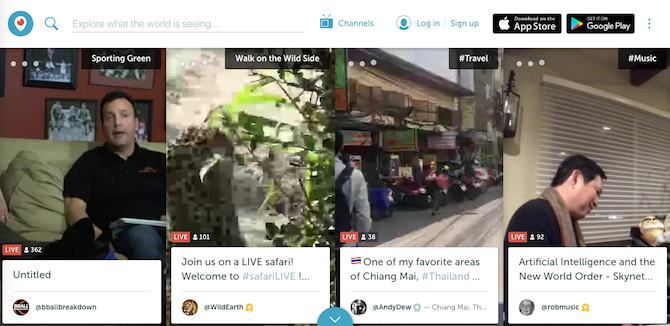 Vine Is Dead, But These 5 Video Streaming Alternatives Are Even Better vine alternative periscope