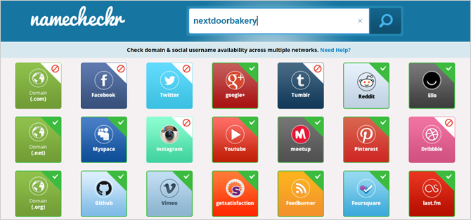 How to Check for Open Usernames on Dozens of Social Media Sites at Once website social media namecheckr