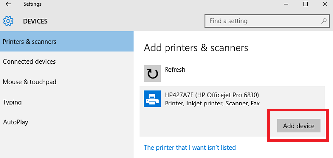 The 3 Easiest Ways to Share a Printer Over a Network window 10 share printer add device 670x319