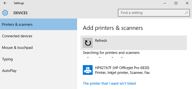 The 3 Easiest Ways to Share a Printer Over a Network window 10 share printer add printer 670x313