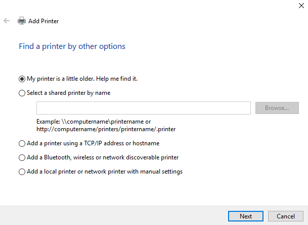 The 3 Easiest Ways to Share a Printer Over a Network window 10 share printer manual add