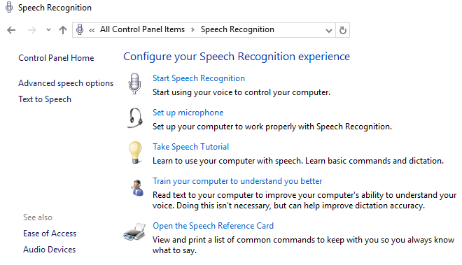 A Brief Guide to Windows 10 Accessibility Tools windows10 voice recognition