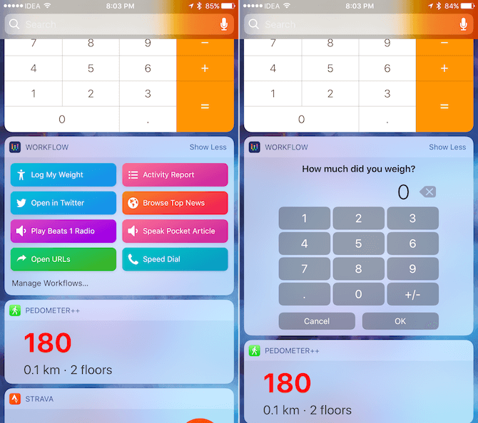 workflow ios templates