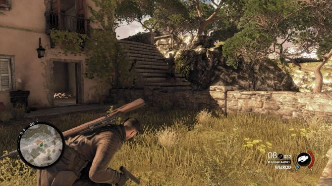 Sniper Elite 4 Review: Should You Load Up Your Rifle? 01 Sniper Elite 4 Sneaking