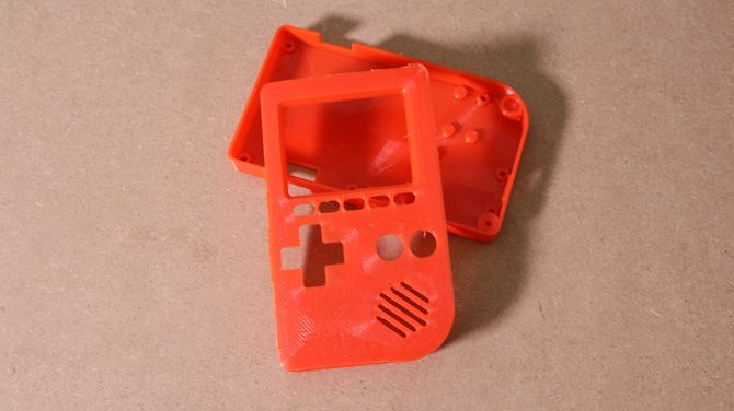 3D Printed Gameboy Case