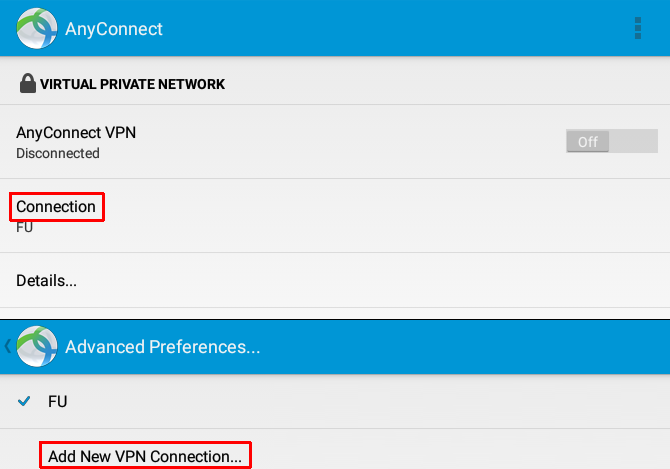 How to Connect to Your Work VPN with Your Android Tablet AnyConnect Connection 670x469