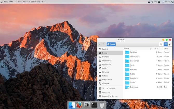 Дайте Linux Mint капитальный ремонт macOS