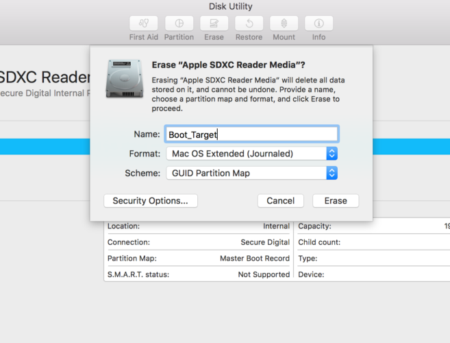 How to Delete (or Repair) Your Mac's Recovery Partition Disk Utility 657x500