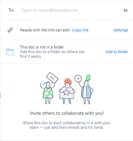 How Dropbox Paper Takes on Google Docs and Office Online Dropbox Paper Document Sharing Options