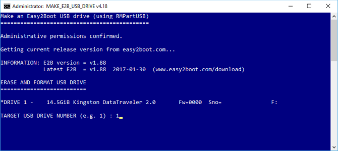 How to Create a Bootable Multiboot USB for Windows and Linux Easy2Boot USB Creator