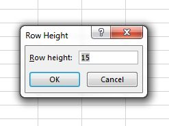 How to Manually Set Column Width and Row Height in Excel Entry