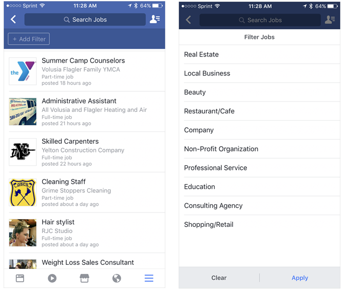 Awesome Facebook Features You Never Thought to Click FacebookJobs iPhone