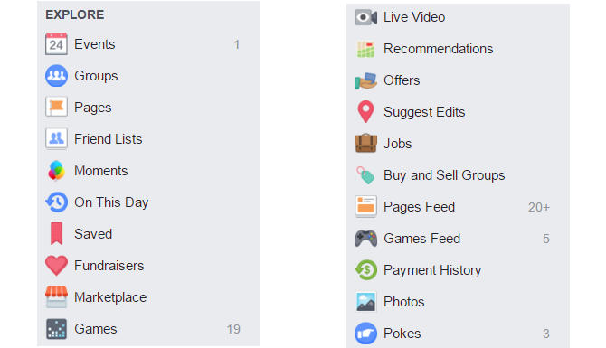 Awesome Facebook Features You Never Thought to Click FacebookMenu web