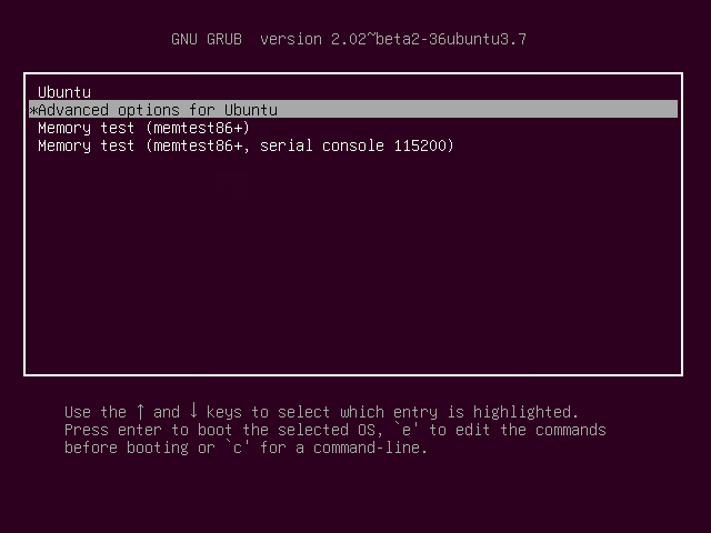 How to Compile Your Own Linux Kernel GRUB Menu