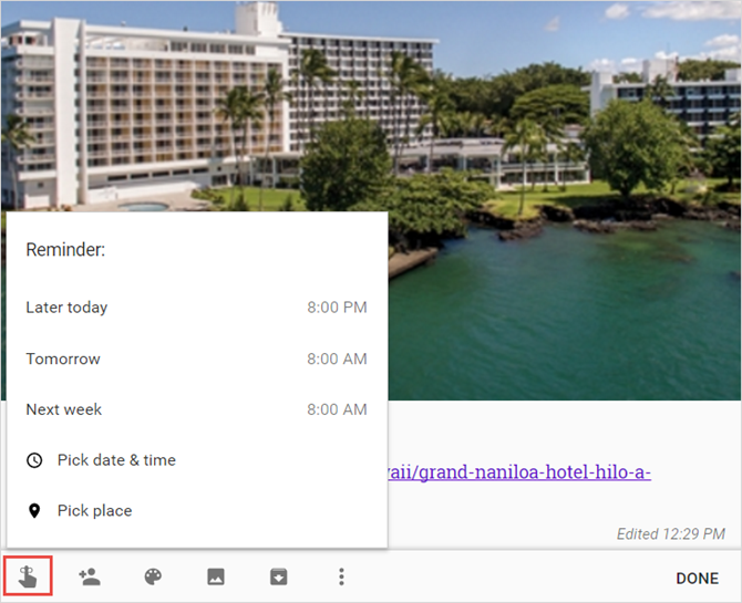 How to Use Google Keep to Organize Your Travel Plans GoogleKeepHotelReminder web
