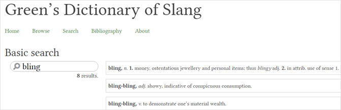 13 Unique Online Dictionaries for Every Situation GreensDictionarySlang web