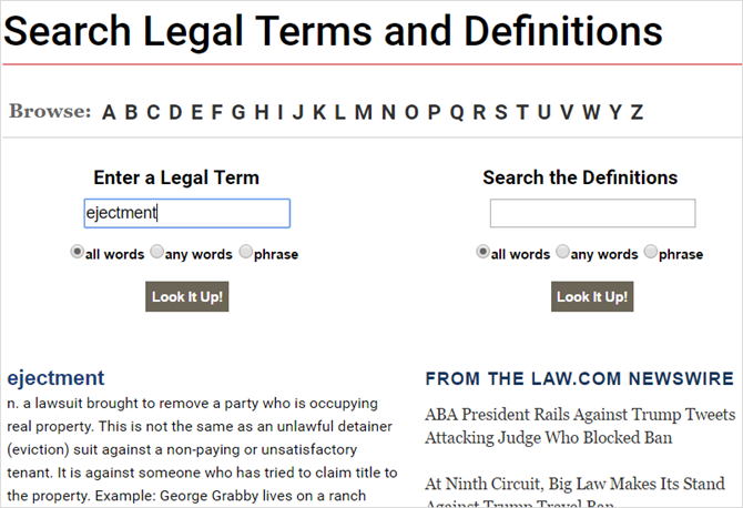 13 Unique Online Dictionaries for Every Situation LawDotComDictionary web