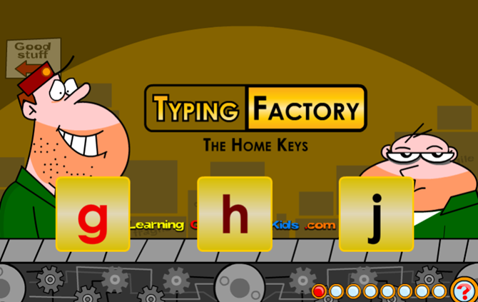 10 Terrific Sites to Teach Kids Typing the Fun Way LearningGamesKids TypingFactory web