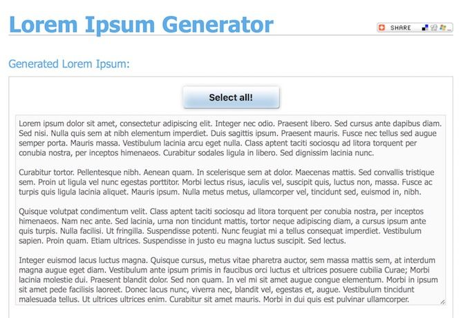 How to Create Impressive Pages Documents and Templates on Mac Lorem Ipsum Generator