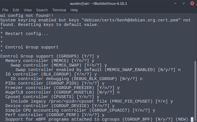 How to Compile Your Own Linux Kernel Make Localmodconfig New