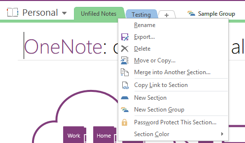 OneNote's Best Organization Feature Is Hidden in Plain Sight OneNote Section Groups