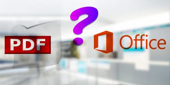 Should You Use PDF or Microsoft Office Documents? The Pros and Cons