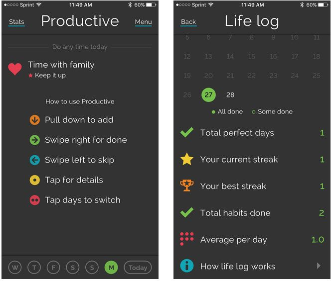 5 iPhone Apps That Can Make You a Better Person ProductiveHabitsFeatures iPhone