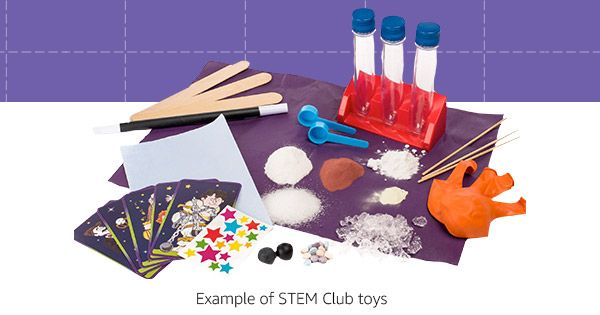 Get a STEM Toy Every Month With Amazon's Subscription Box for Kids STEM