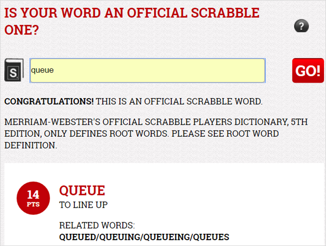 13 Unique Online Dictionaries for Every Situation ScrabbleDictionary web