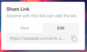 How to Instantly Create Shareable Task Lists (No Signups Required) Taskade2