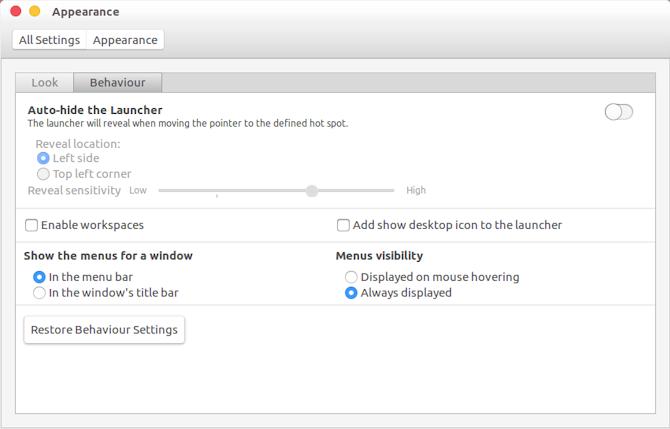 Настройте Unity, чтобы он выглядел как macOS
