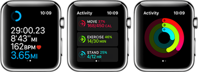 apple watch fitness tracking