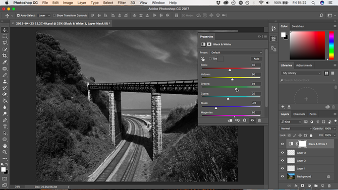 10 Must-Know Introductory Photoshop Skills for Beginner Photographers black and white