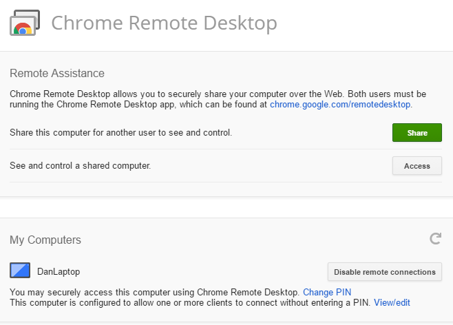 7 Easy Screen-Sharing and Remote-Access Tools chrome remote desktop