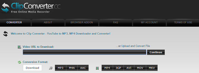 18 Free Ways to Download Any Video Off the Internet clipconverter 670x248