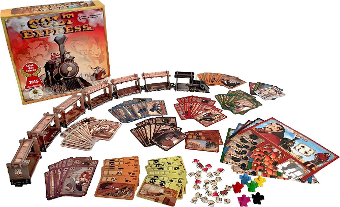 The Best Family Board Games You've Never Heard Of colt express
