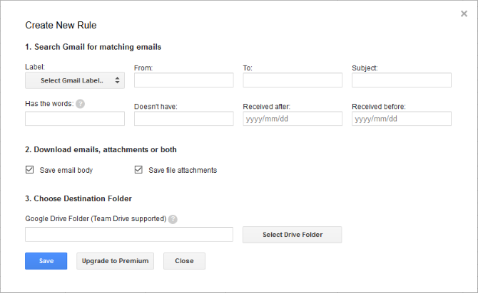 Gmail attachment download