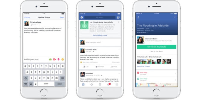 Facebook Helps You Help Others During a Crisis