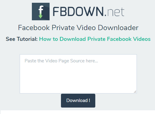 18 Free Ways to Download Any Video Off the Internet fbdown private