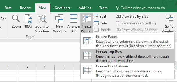 5 Reasons to Not Print Excel Spreadsheets and Better Alternatives freeze cells