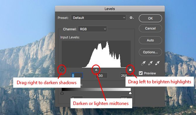 10 Must-Know Introductory Photoshop Skills for Beginner Photographers histogram