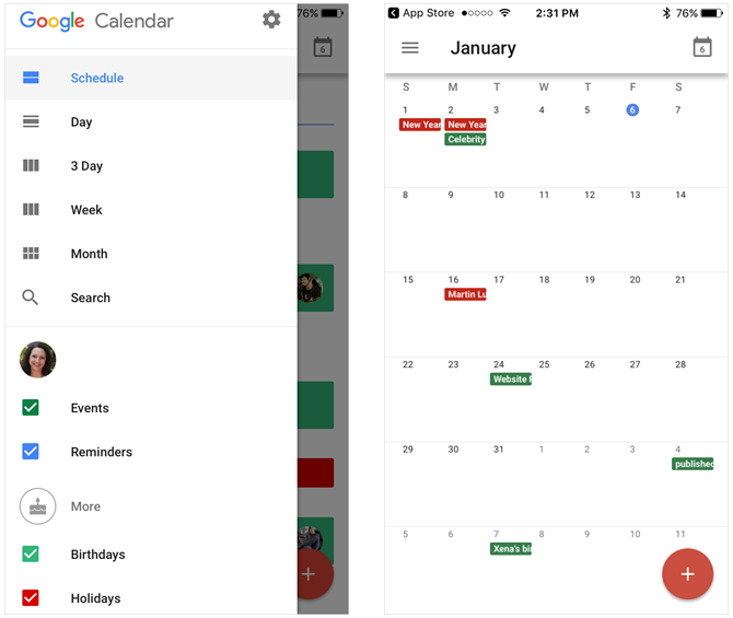 How to Use Google's Productivity Tools to Maximize Your Time iPhoneGoogleCalendar mobile1